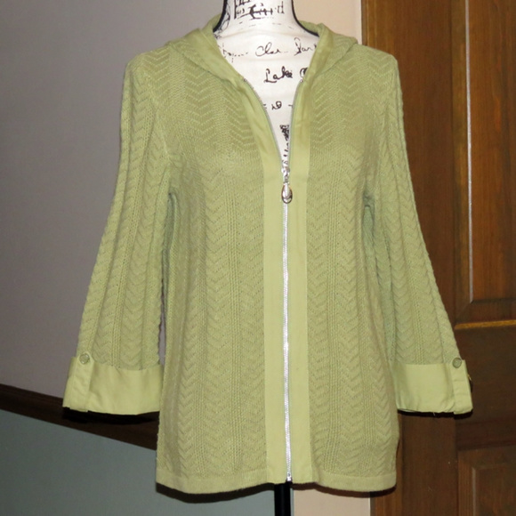 Christopher & Banks Sweaters - CHRISTOPHER & BANKS Zip Cardigan Sweater - Size M